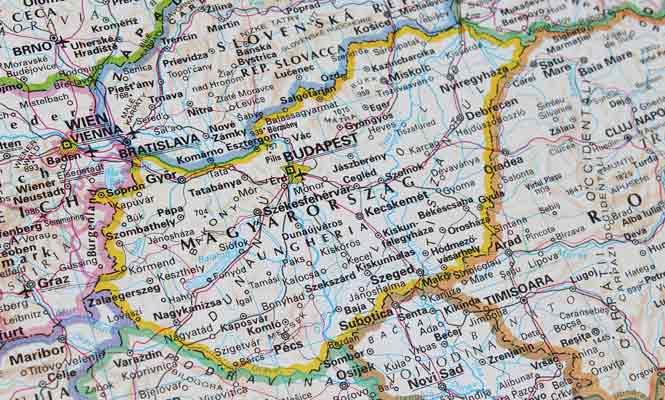 Demografie a geografie Maďarska