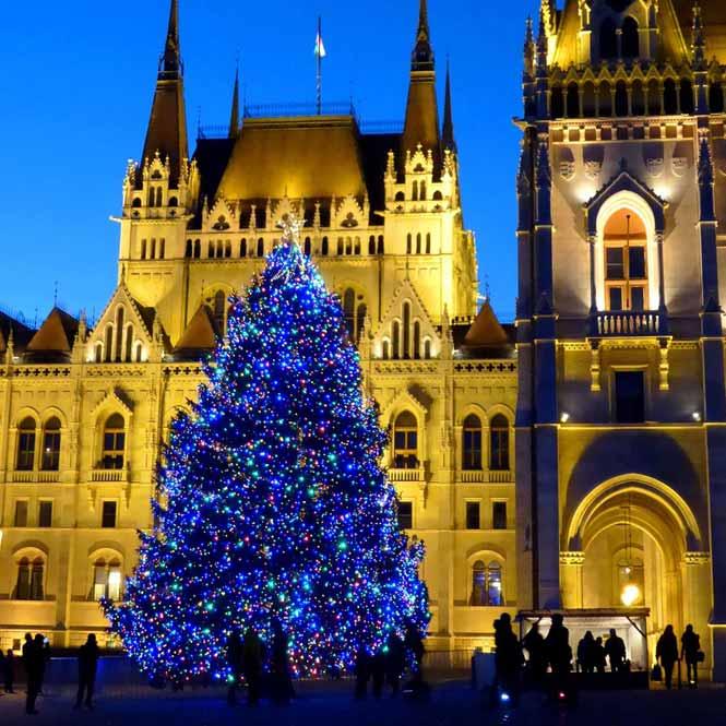 Vánoce Budapešť