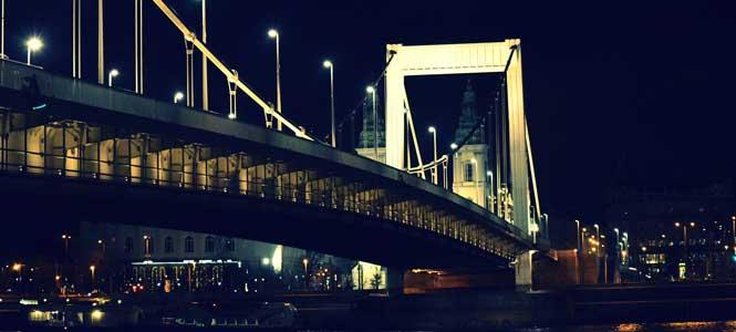 Erzsébet híd Alžbětin most