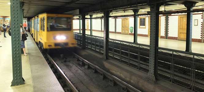 Millenniumi Földalatti Vasút Jubilejní linka metra