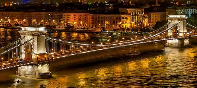 Széchenyi Lánchíd Řetězový most