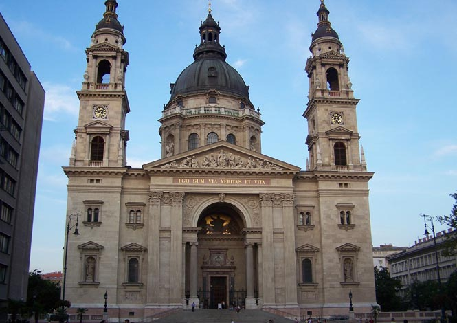 Szent István Bazilika Bazilika svatého Štěpána