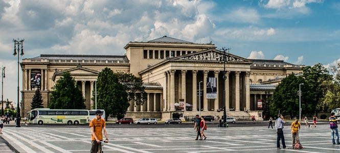 Szépművészeti Múzeum Muzeum krásných umění