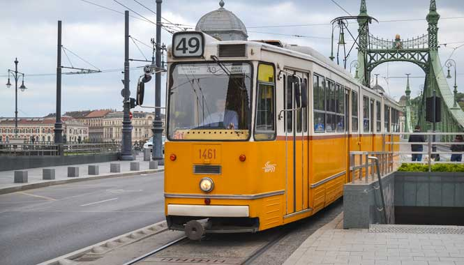 MHD v Budapešti