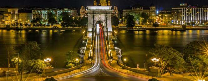Mosty a ostrovy v Budapešti