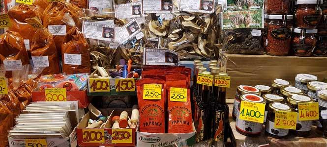 Nákupy ve Velké tržnici