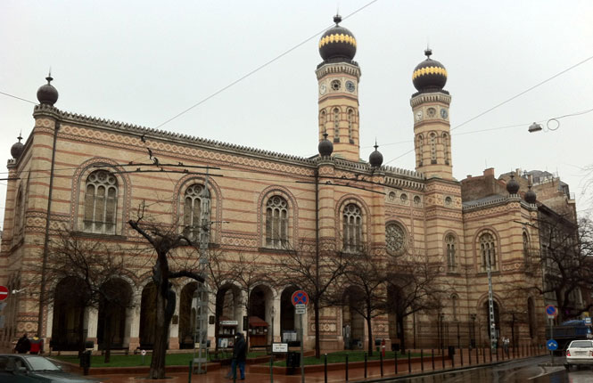 Dohány utcai Zsinagóga Velká synagoga